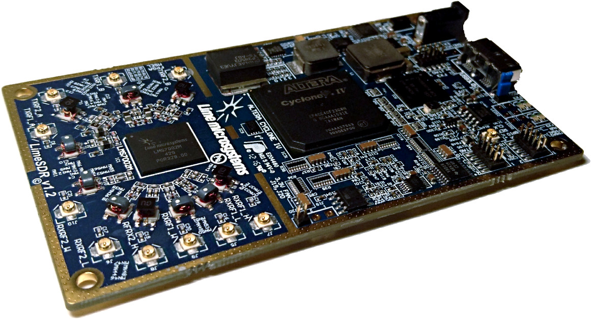 LimeSDR is now open source hardware! - Myriad
