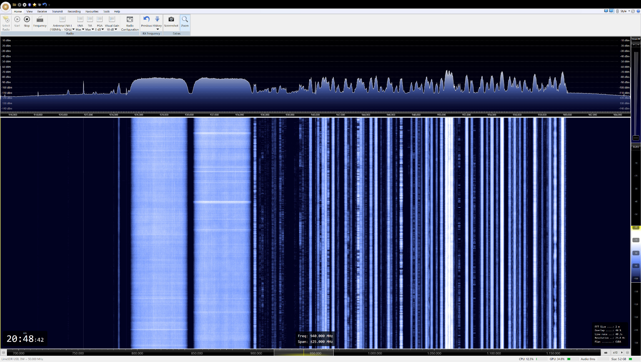 Limesdr With Native Windows And Via Ubuntu Vm Myriad Audio Level Threshold Control Eeweb Community